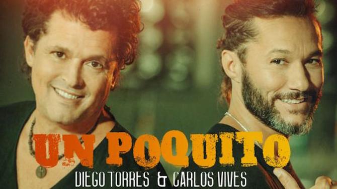 Diego Torres publica nuevo sencillo junto a Carlos Vives: 'Un poquito' (Video)