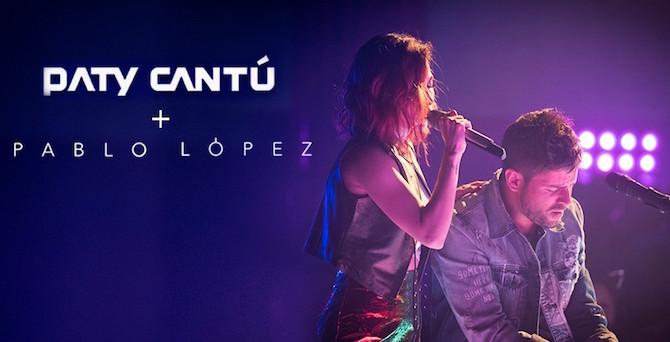 Paty Cantú y Pablo López estrenan nueva versión de 'Déjame ir' (Video)