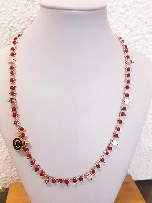 Collana Carmen rossa