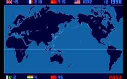 Timelapse of Nuclear Explosions