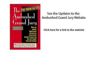 Updates to the Ambushed Grand Jury Website:  Terrie Barrie, ANWAG, presents Rocky Flats Safety Conce