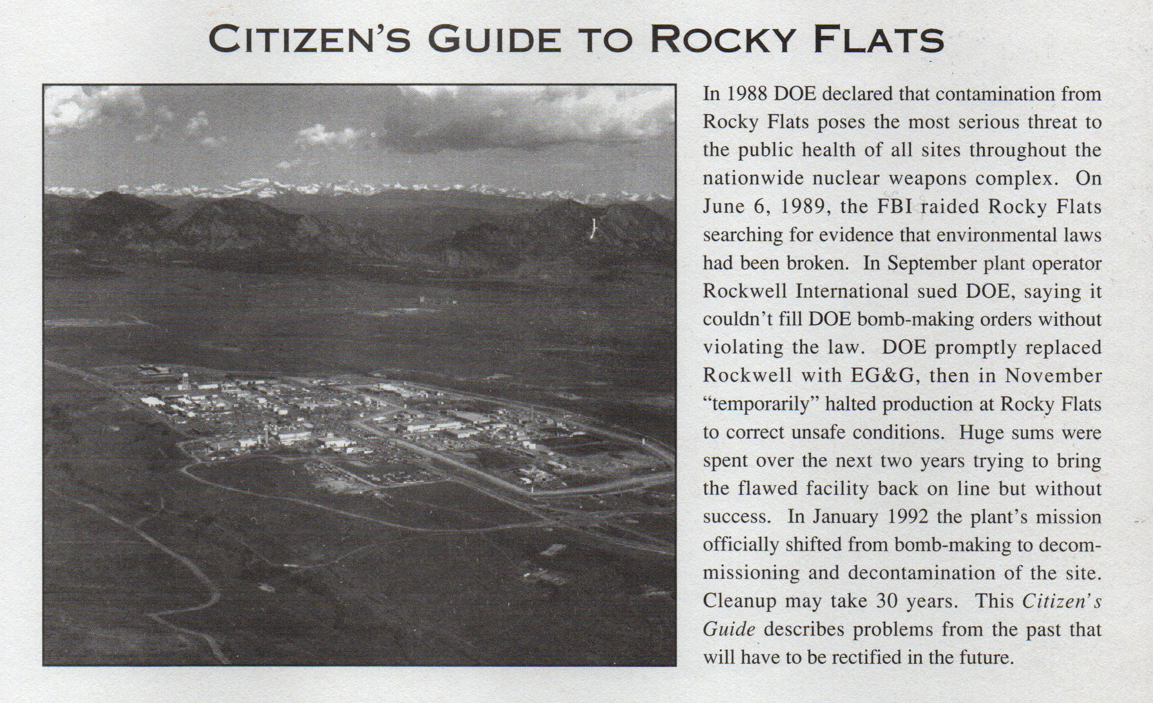 Citizen's Guide Picture