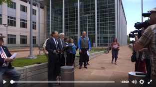 News Conference Regarding Rocky Flats NEPA Lawsuit, May 31st 2017