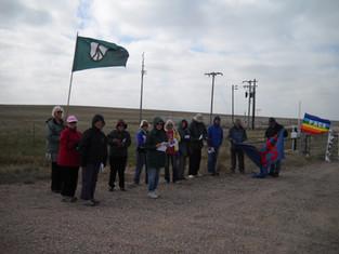 PHOTOS: Vigil at Nuclear Silo N8 in Northern Colorado