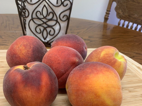 Peaches: August's Food of the Month