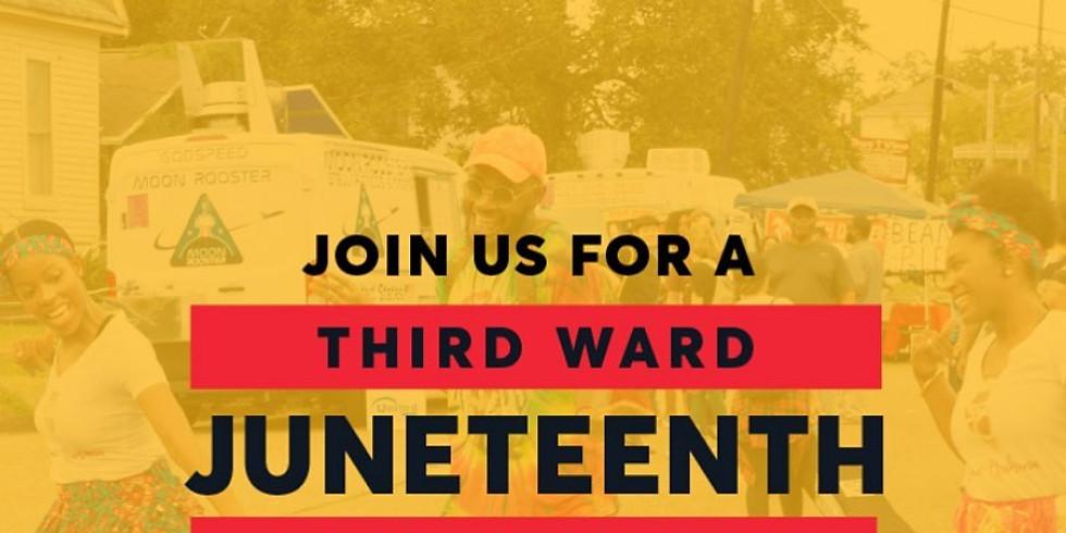 3rd Ward Juneteenth Celebration