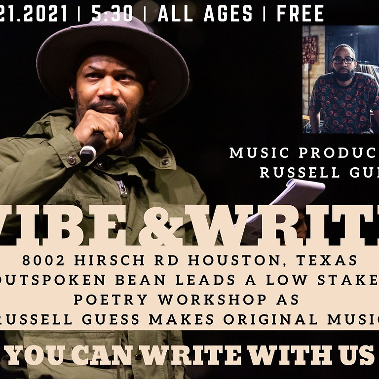 Vibe & Write with Russell Guess