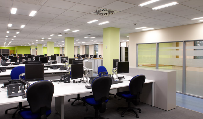 Custom Office Lighting Installations