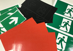 Vinyl Sticker Cutting and Printing