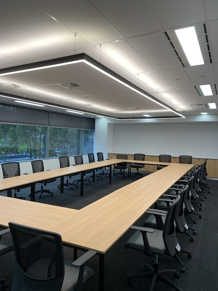 Custom Boardroom Lighting