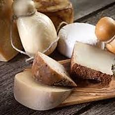 Selection de fromages d'Italie