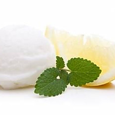 Sorbet au Citron de Naples bio et fraises du Sud Ouest
