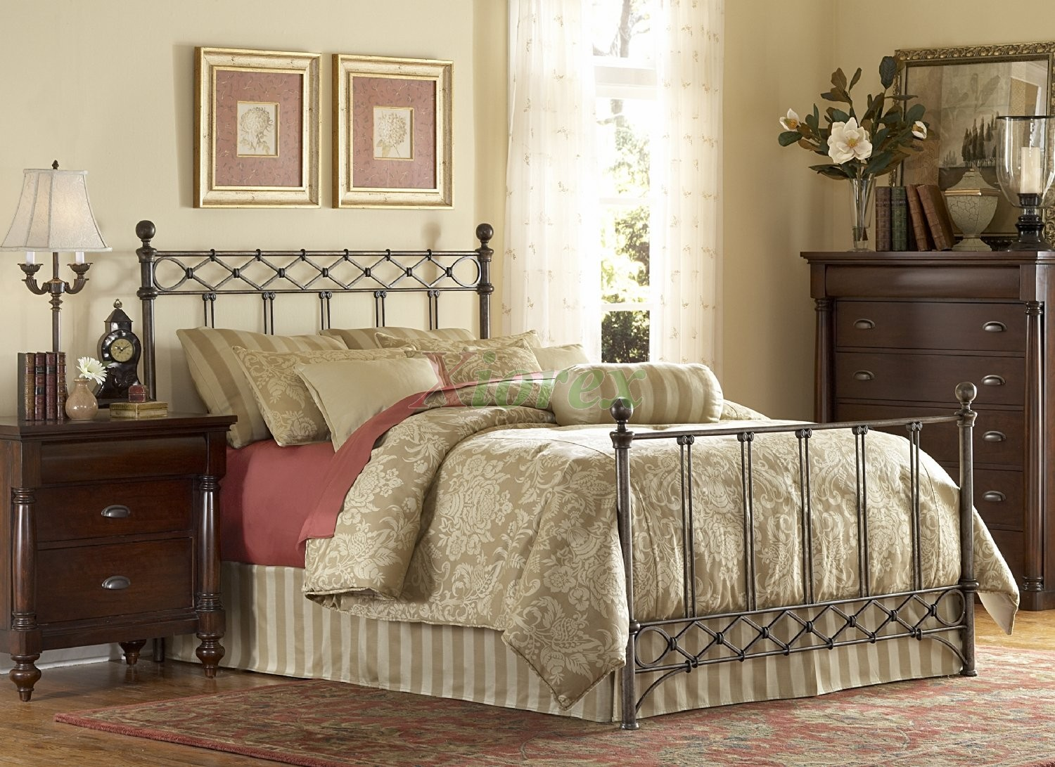 Fabulous Comer The Awesome Metal King Bed Frame Designs