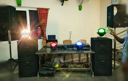 DJ Set up Audio DJ Ajoy trichy