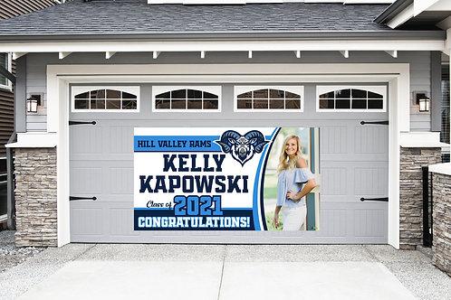 Graduation Banner w/Photo