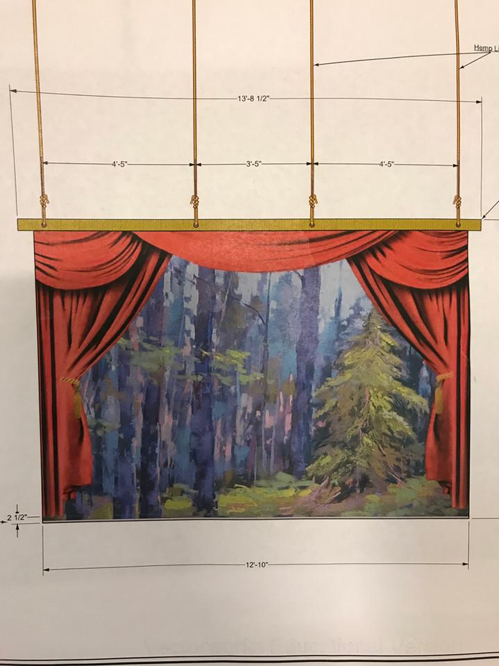 Reference - Medda's Theatre Drop Design by Michael Duran
