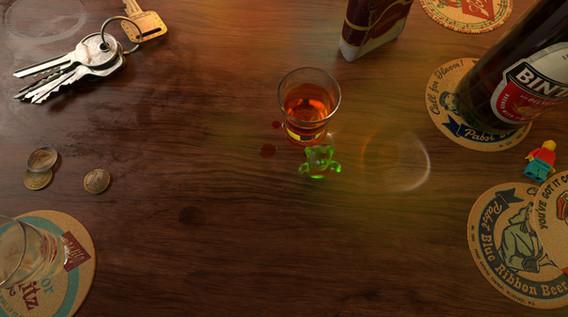 bar with bear