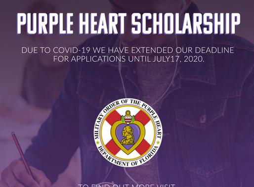 Scholarship Extended!