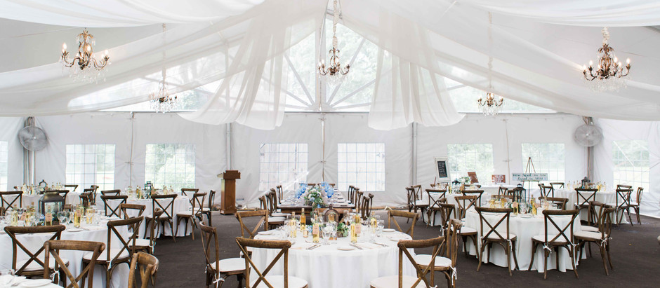 A stunning intimate wedding