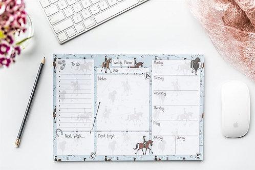 Dressage Desk Planner