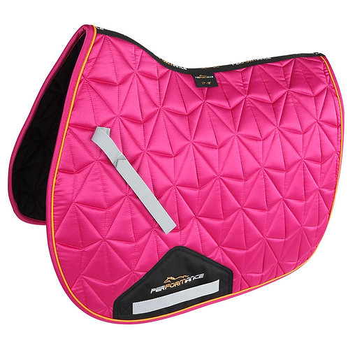 Performance Luxe Saddlecloth - Pink