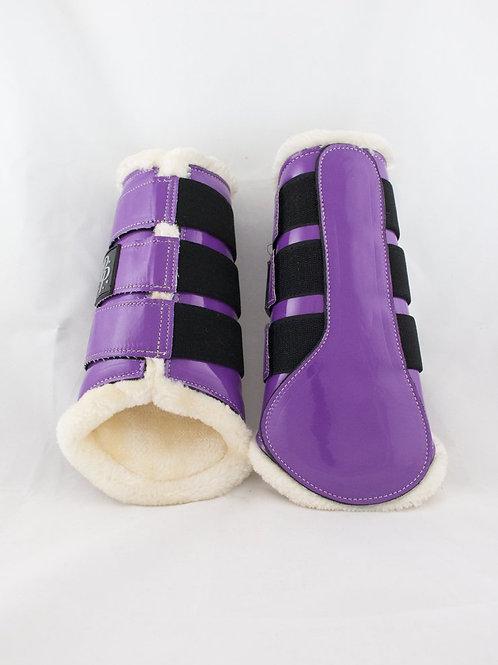 Punk Ponies Brushing Boots - Purple