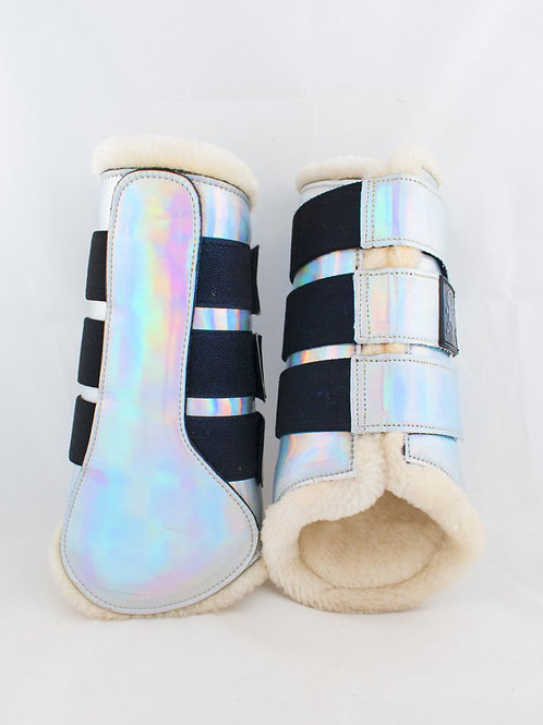 Punk Ponies Holographic Brushing Boots