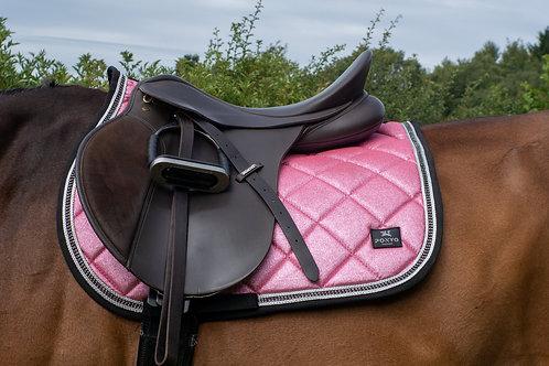 Lustre Saddle Pad - Blush