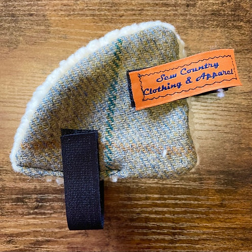Sew Country Ear Warmers - Light Green Tweed