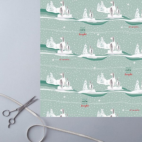 Christmas Frolics Wrapping Paper