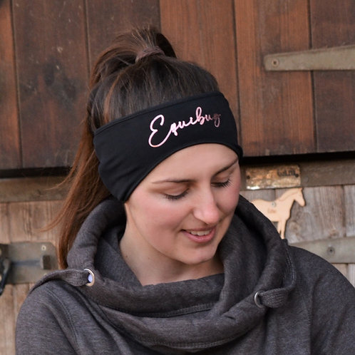 Equibug Headband - Black & Rose Gold