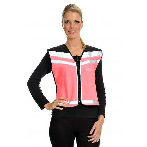 Equisafety Reflective Air Waistcoat - Pink