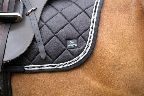 Lustre Saddle Pad - Onyx