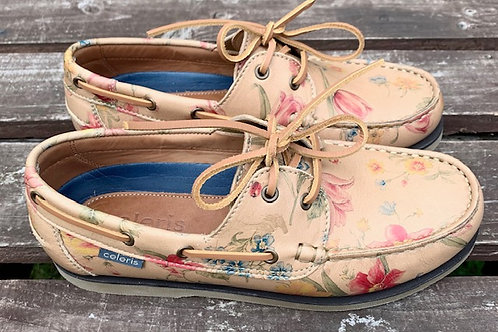Celeris Deck Shoes - Flower Power