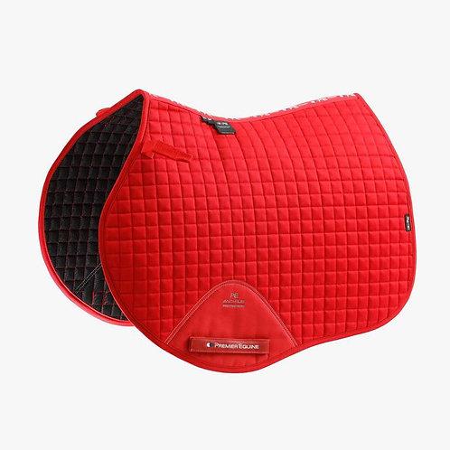 Close Contact Cotton GP/ Jump Saddle Pad - Red