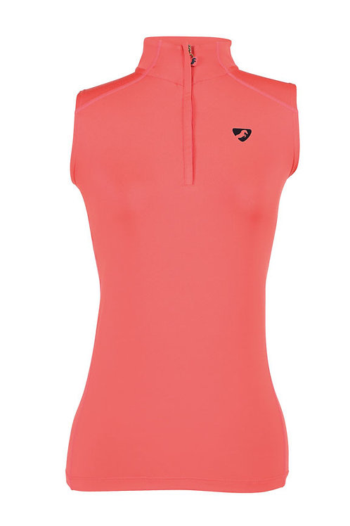 Aubrion Westbourne Sleeveless Baselayer Coral