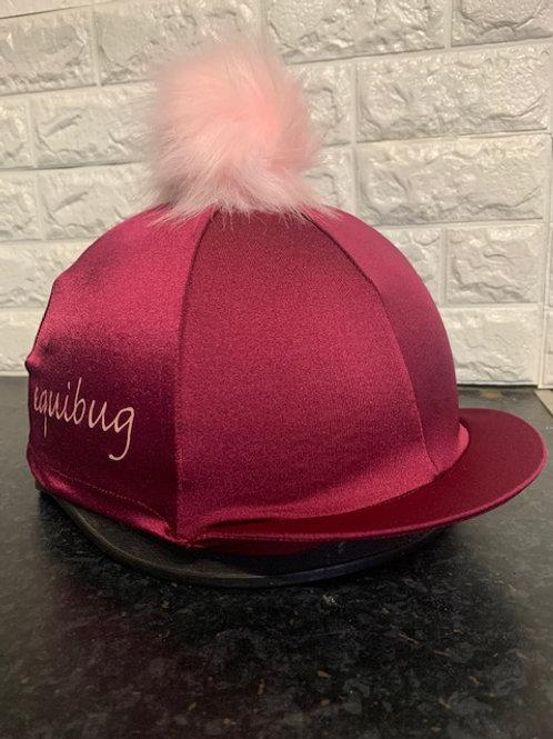 Equibug Hat Silk - Bordeaux