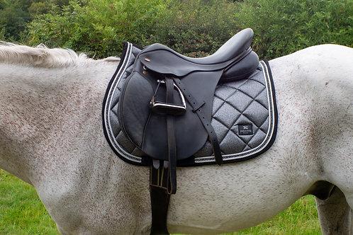 Lustre Saddle Pad - Titanium