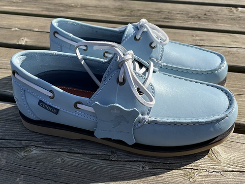Celeris Deck Shoes - Pastel Blue