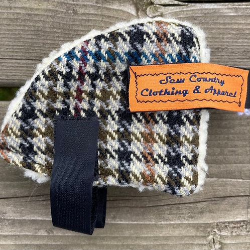 Sew Country Ear Warmers - Multicolour Tweed