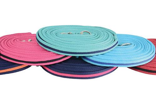 Soft Webbing Lunge Line - 25'