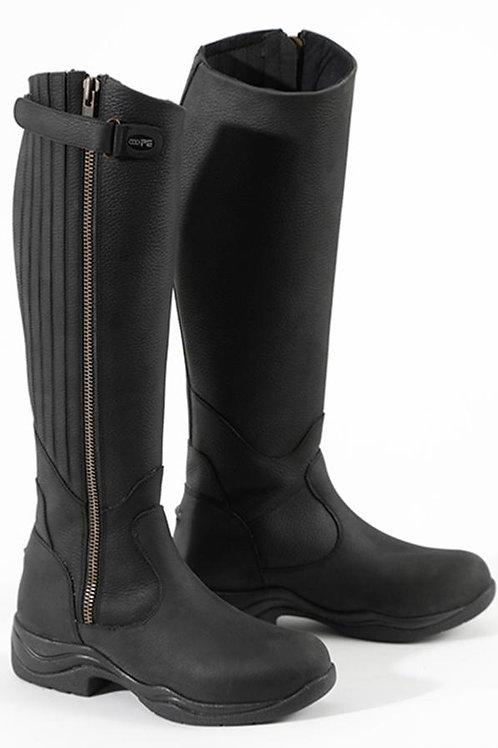 Brecon Ladies Leather Country Boot