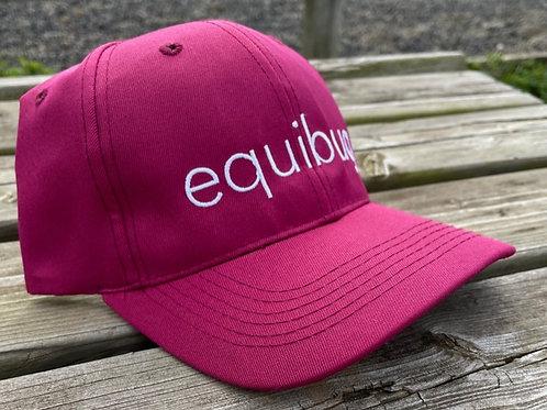 Equibug Cap - Burgundy/White