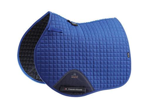 Close Contact Cotton GP/ Jump Saddle Pad - Royal Blue