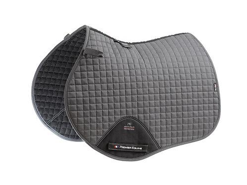 Close Contact Cotton GP/Jump Saddle Pad - Grey