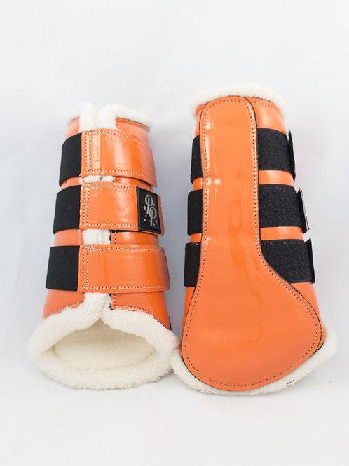 Punk Ponies Brushing Boots - Orange
