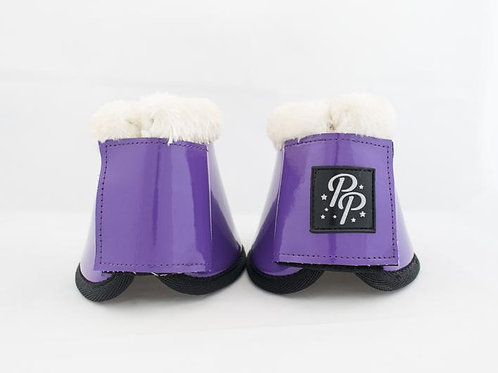 Punk Ponies Overreach Boots - Purple