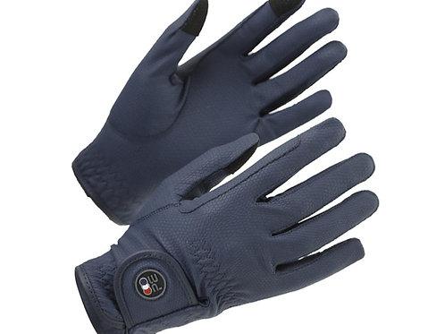 Metaro Ladies Riding Gloves - Navy