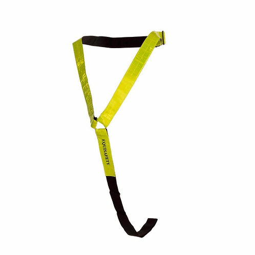 Equisafety Reflective Neck Band -Yellow