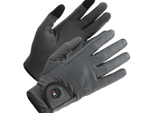 Metaro Ladies Riding Gloves - Grey